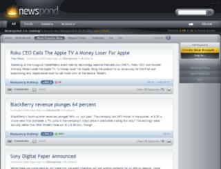 newspond.com screenshot