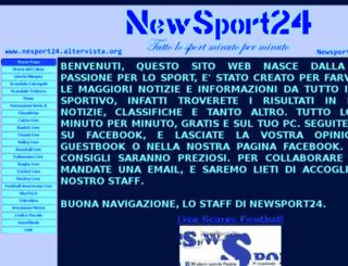 newsport24.altervista.org screenshot