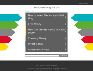 newspot.resolvemoney.co.uk screenshot