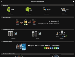 newspy-phone.com screenshot