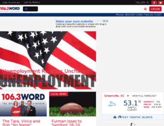 newsradioword.com screenshot