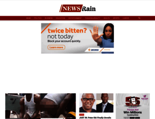 newsrainng.com screenshot