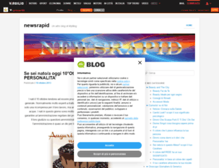 newsrapid.myblog.it screenshot