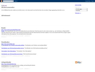 newsreaderreview.blogspot.fr screenshot