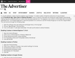 newsreviewmessenger.com.au screenshot