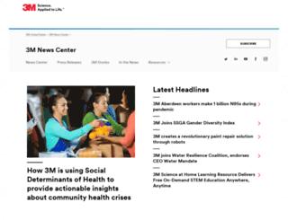 newsroom.3mhis.com screenshot