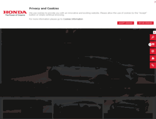 newsroom.honda.co.uk screenshot