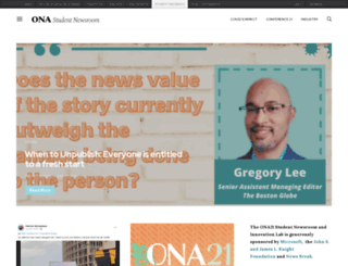newsroom.journalists.org screenshot