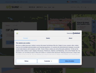 newsroom.suez-environnement.fr screenshot