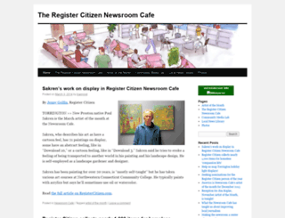newsroomcafe.wordpress.com screenshot