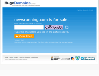 newsrunning.com screenshot