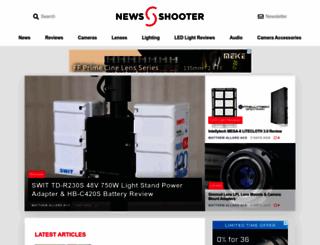 newsshooter.com screenshot