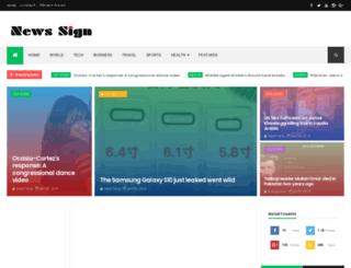 newssign.blogspot.com screenshot
