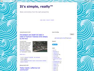 newssimple.blogspot.com screenshot