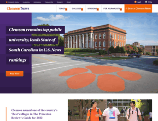 newsstand.clemson.edu screenshot