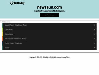 newssun.com screenshot