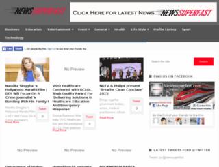 newssuperfast.com screenshot