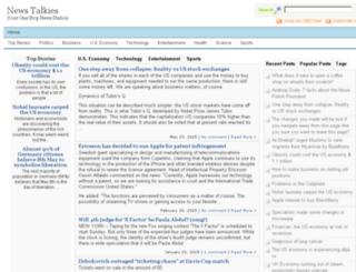 newstalkies.com screenshot