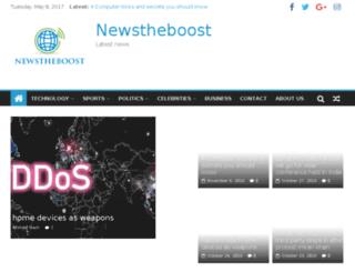 newstheboost.com screenshot