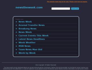 newstheweek.com screenshot