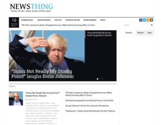 newsthing.co.uk screenshot