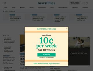 newstimeslive.com screenshot