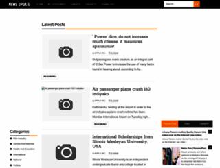 newsupdatenepal.blogspot.ae screenshot
