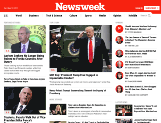 newswek.org screenshot