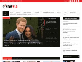 newswld.com screenshot
