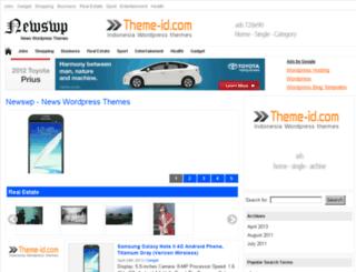 newswp.virtarichtheme.com screenshot
