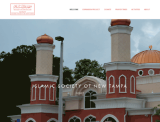 newtampamasjid.org screenshot