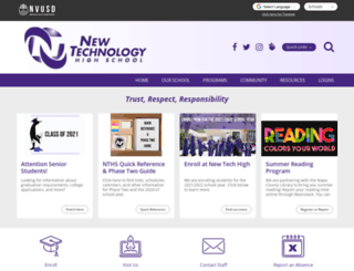 newtechhigh.org screenshot