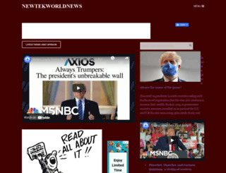 newtekjournalismukworld.com screenshot