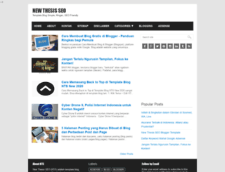 newthesisseo.blogspot.in screenshot