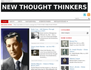 newthoughtthinkers.com screenshot