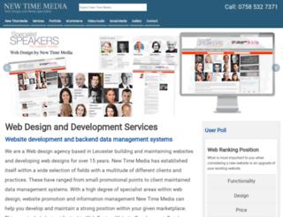 newtimemedia.co.uk screenshot