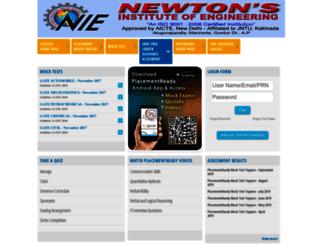 newton.btechguru.com screenshot
