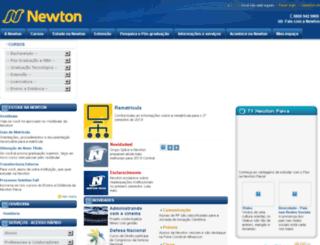 newton.newtonpaiva.br screenshot