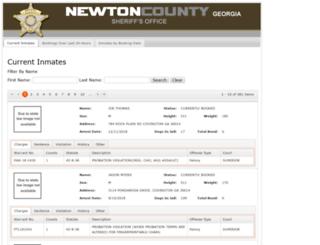 newtoncoga.offenderindex.com screenshot