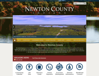 newtoncounty.in.gov screenshot