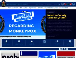 newtoncountyschools.org screenshot