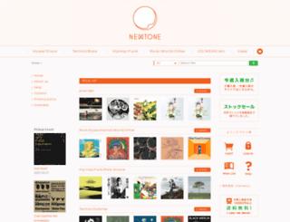 newtone-records.com screenshot