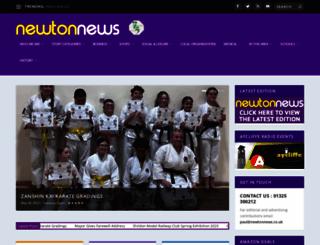 newtonnews.co.uk screenshot
