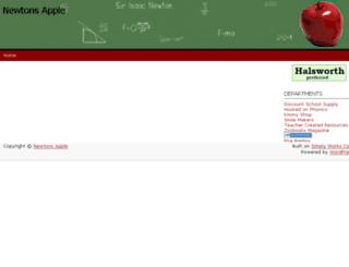 newtons-apple.com screenshot
