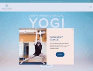 newtonyoga.com screenshot