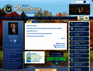 newtown-ct.gov screenshot