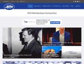 newtownjets.com screenshot