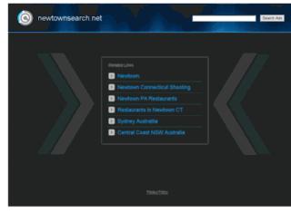 newtownsearch.net screenshot