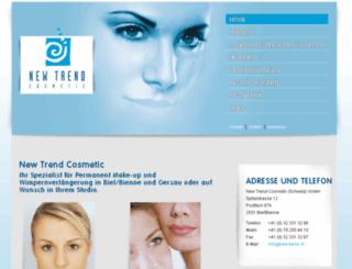 newtrend-cosmetic.li screenshot