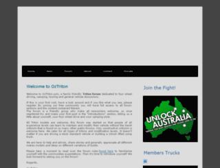 newtriton.net.au screenshot